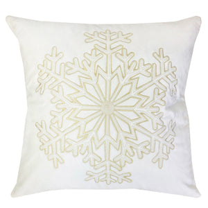 Stellar Pillows | Size 20X20 | Color White/Gold