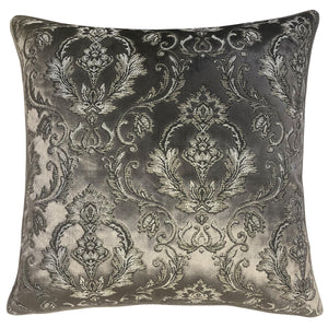 Beatrice Pillows | Size 23x23 | Color Charcoal