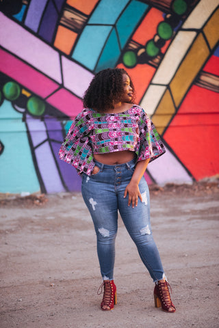 Box Crop Top - Nneka