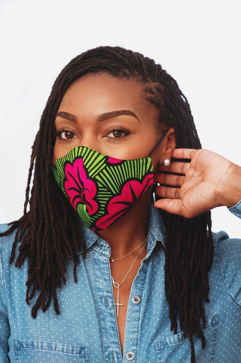*LIMITED TIME OFFER* Kamala Bundle-  Infinity Scarf & Face Mask
