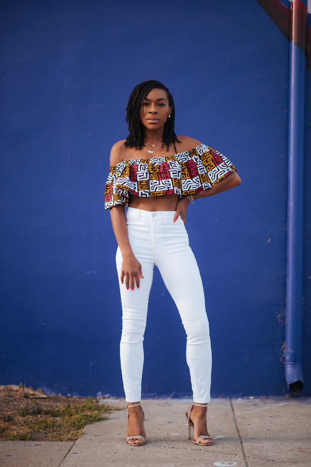 Flutter Crop Top - Sistah