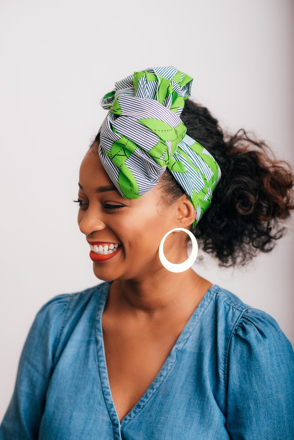 Head Wrap - Lime