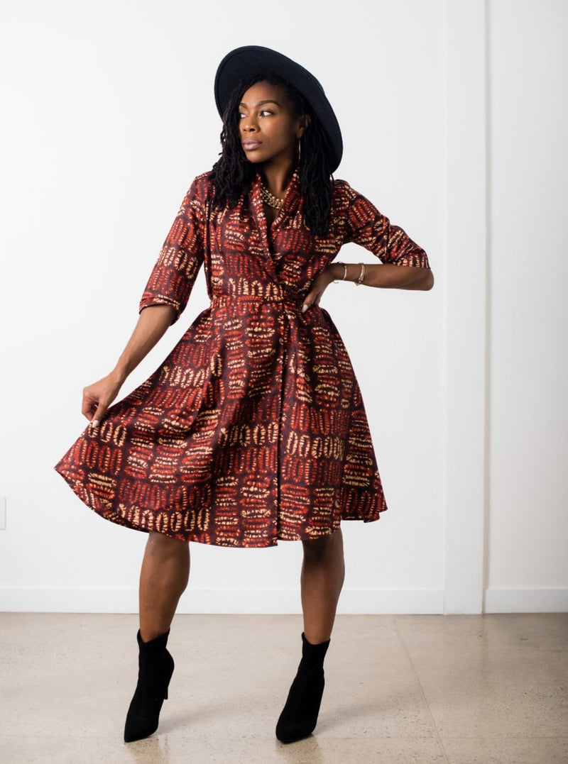 Niyah Wrap Dress