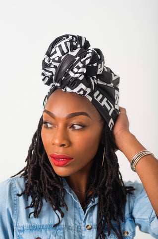 Mini Head Wrap - Maria