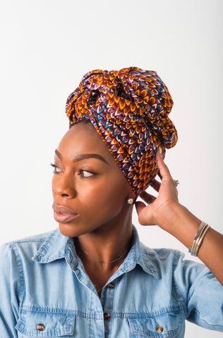 Head Wrap - Shiraz