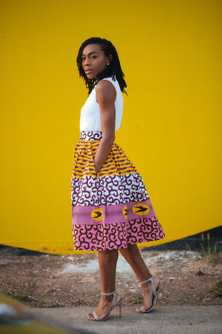Custom Gathered Skirt - Dafina