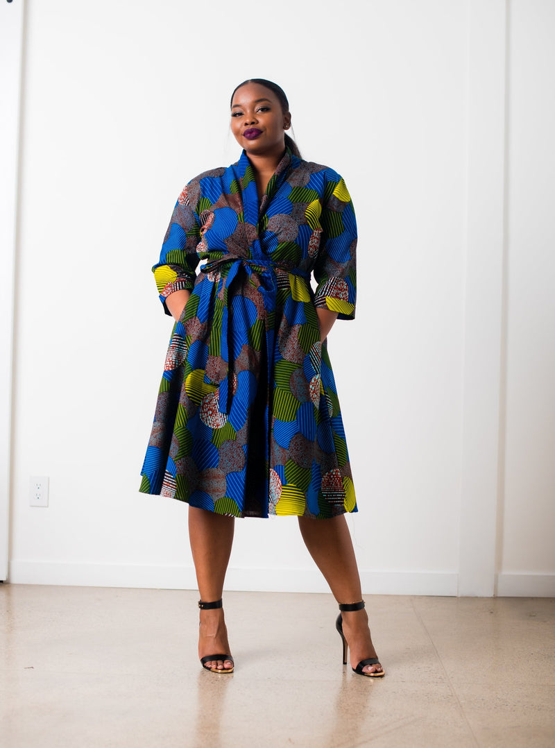 Sheila Wrap Dress