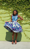 Custom Gathered Skirt- Ada