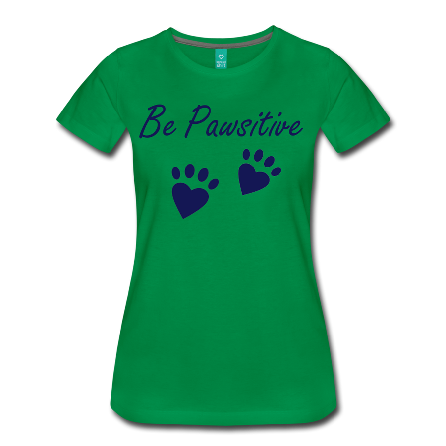 Be Pawsitive - kelly green
