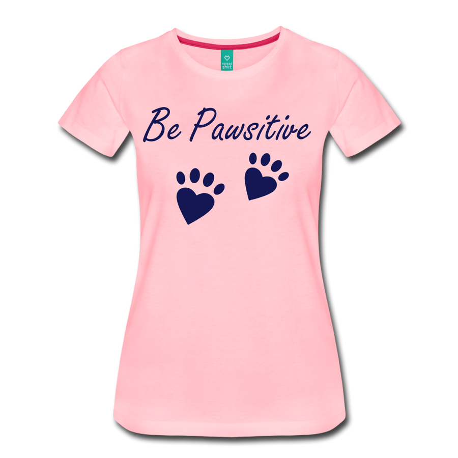 Be Pawsitive - pink