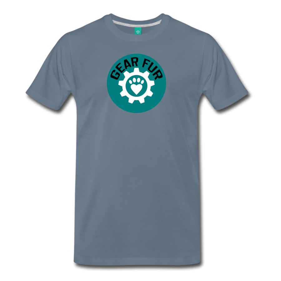 Fun Logo Shirt - steel blue