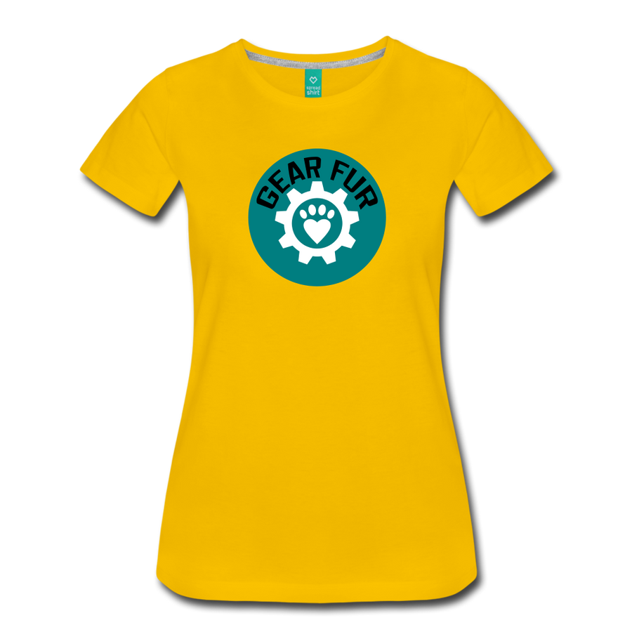 Fun Logo Shirt - sun yellow