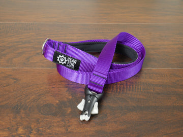 Purple Flat Leash
