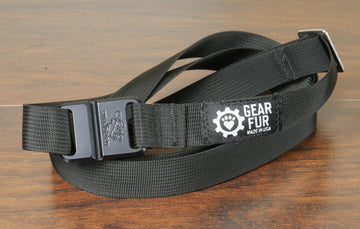 Black Leash Belt