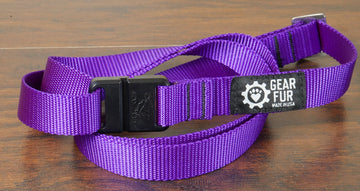 Purple Leash Belt