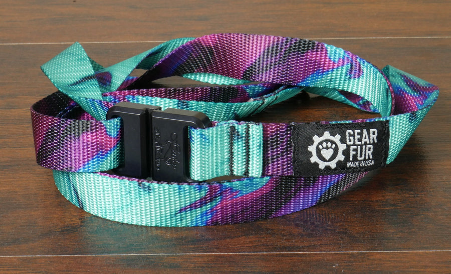 Sea Glass Leash Belt