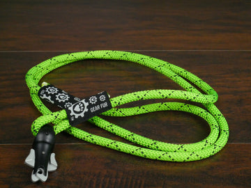 Neon Green Climbing Rope Leash