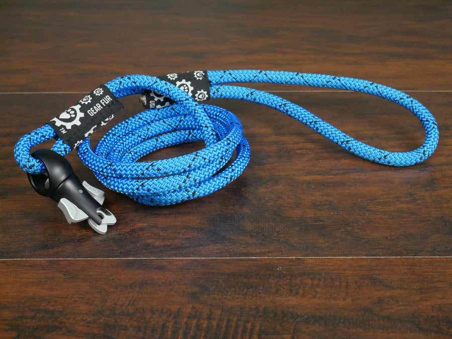 Blue Climbing Rope Leash