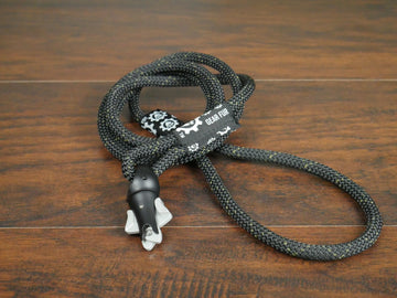 Black Climbing Rope Leash