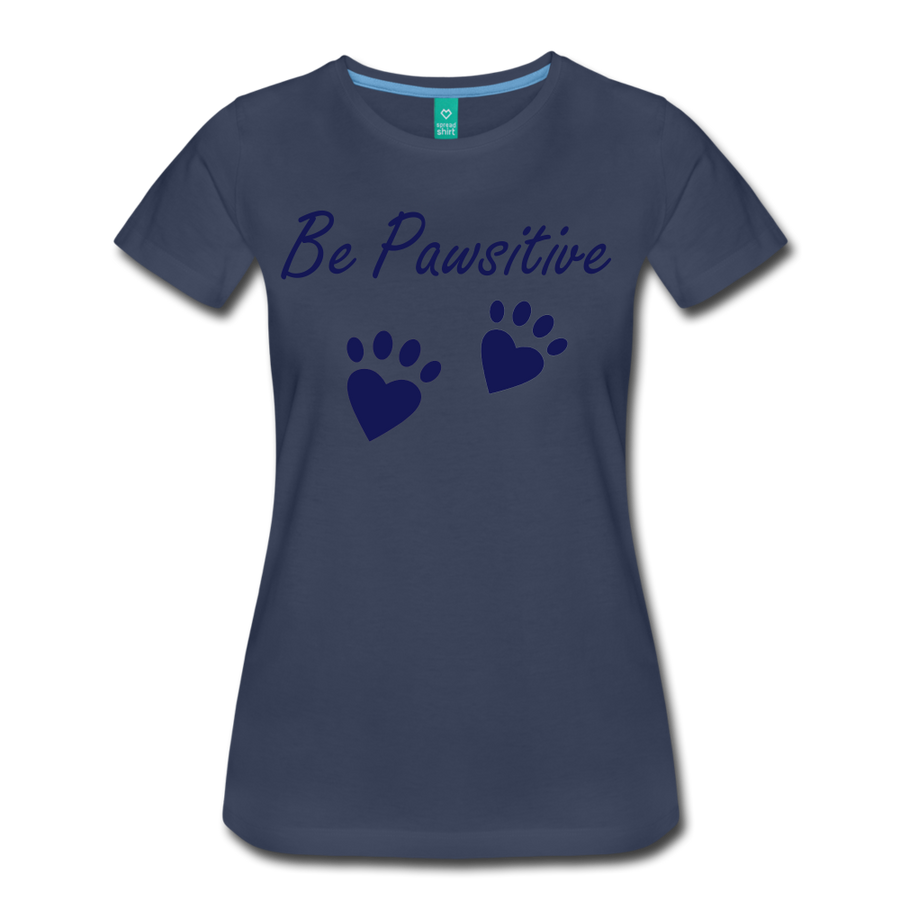 Be Pawsitive - navy