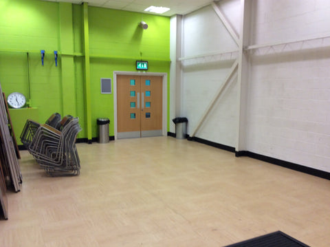 How the gym at The University of Leeds looked before they had a refurbishment