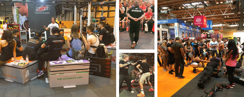 The team and spectators have enjoyed the weekend at BodyPower 2016
