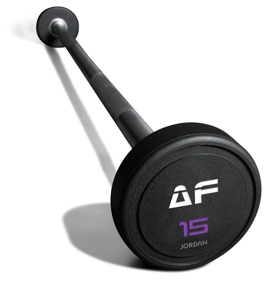 Custom Branded Urethane Barbell Set (Straight or Curl Bars)