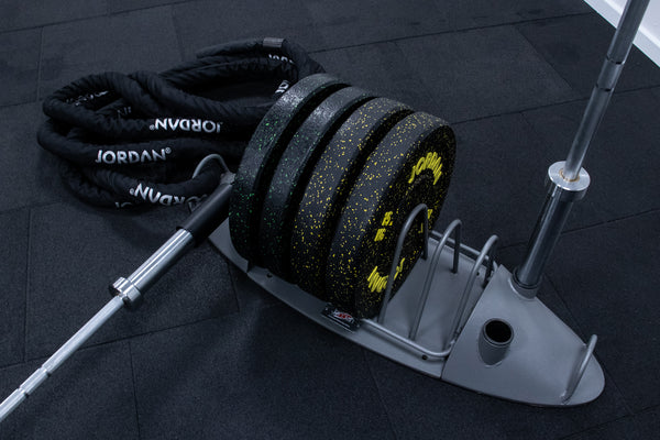 The Hub (Olympic Disc/Bar Rack with Core Trainer)