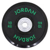 Black Urethane Competition Plate - Coloured Text
