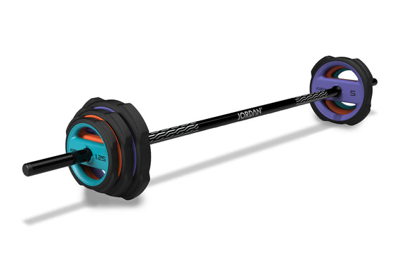 Ignite Pump X Urethane Studio Barbell Sets and Plates