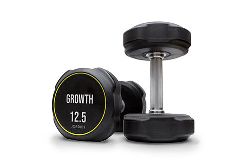 Custom Branded Ignite V2 Urethane Dumbbells