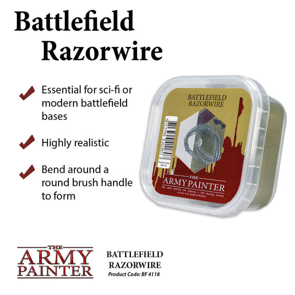 Battlefields - Basing: Razor Wire