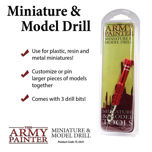 Tool - Miniature and Model Drill