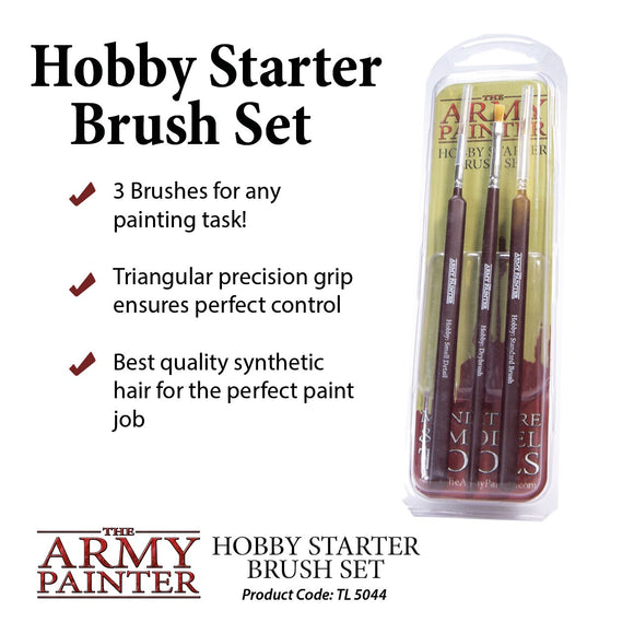 Starter Set - Hobby Brush Starter Set