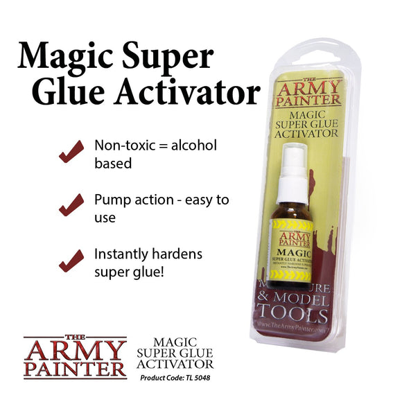 Magic Superglue Activator - Alcohol Pump