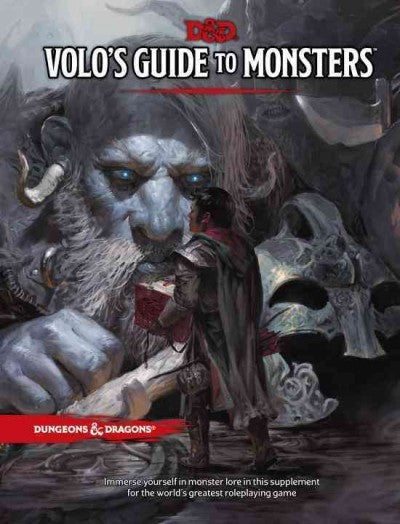 Dungeons and Dragons RPG: Volo's guide to monsters