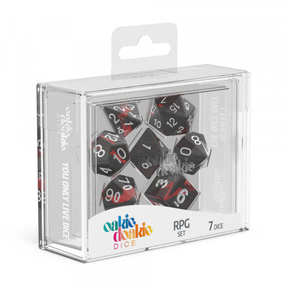 oakie doakie DICE RPG Set Enclave: Ruby (7)