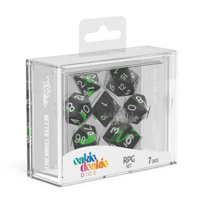 oakie doakie DICE RPG Set Enclave: Emerald (7)