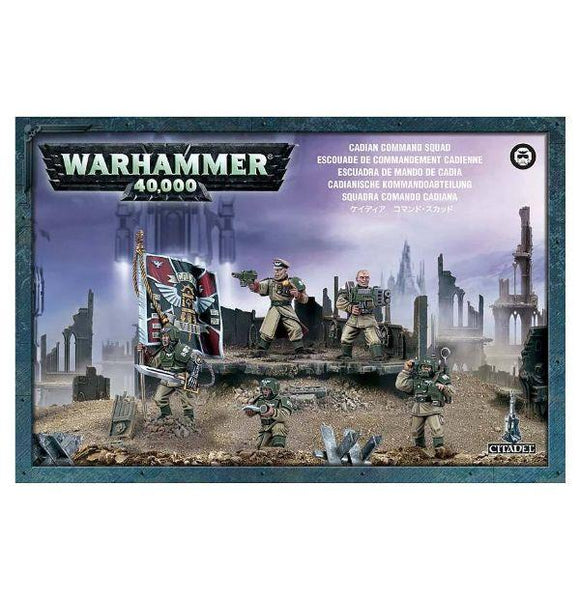 WARHAMMER 40K: CADIAN COMMAND SQUAD