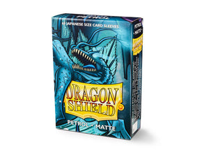 Dragon Shield Matte Japanese Sleeves - Petrol (60 ct. in box)