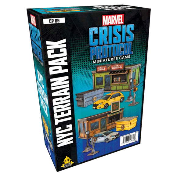 Marvel: Crisis Protocol - NYC Terrain Pack *PRE-ORDER*
