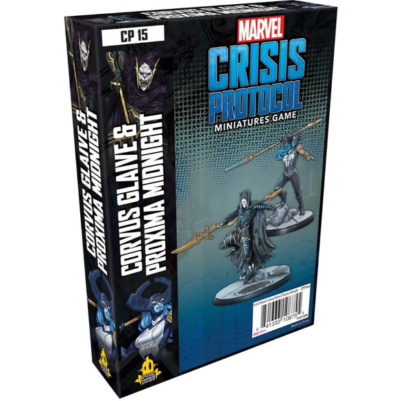 Marvel Crisis Protocol: Corvus Glaive and Proxima Midnight *PRE-ORDER*