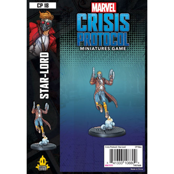 Marvel Crisis Protocol: Star-Lord *PRE-ORDER*