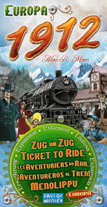 Ticket to Ride expansion: Europa 1912