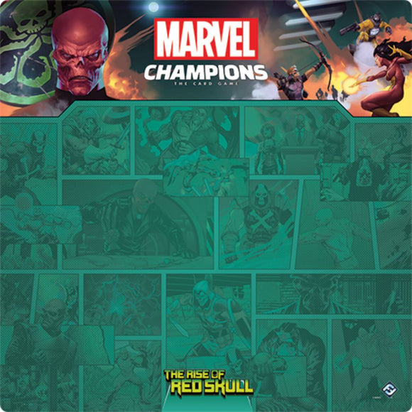 Marvel Champions LCG: Red Skull 1-4 Player Game Mat *PRE-ORDER*