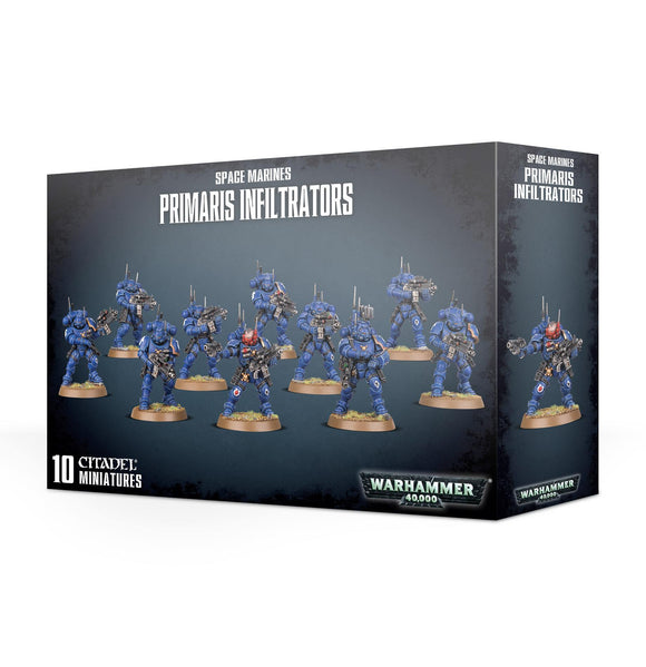 SPACE MARINES PRIMARIS INFILTRATORS