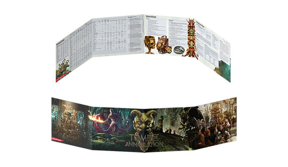 D&D Tomb of Annihilation: Dungeon Master's Screen