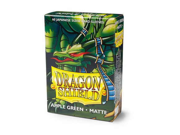 Dragon Shield Matte Japanese Sleeves - Apple Green (60 ct. In box)