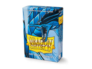 Dragon Shield Matte Japanese Sleeves - Sky Blue (60 ct. In box)
