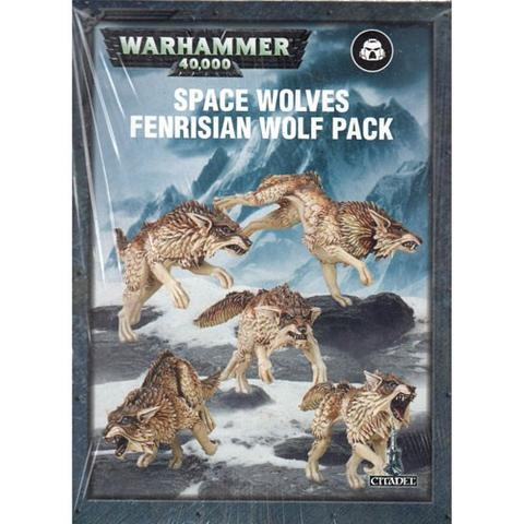 WARHAMMER 40K: SPACE WOLVES FENRISIAN WOLF PACK